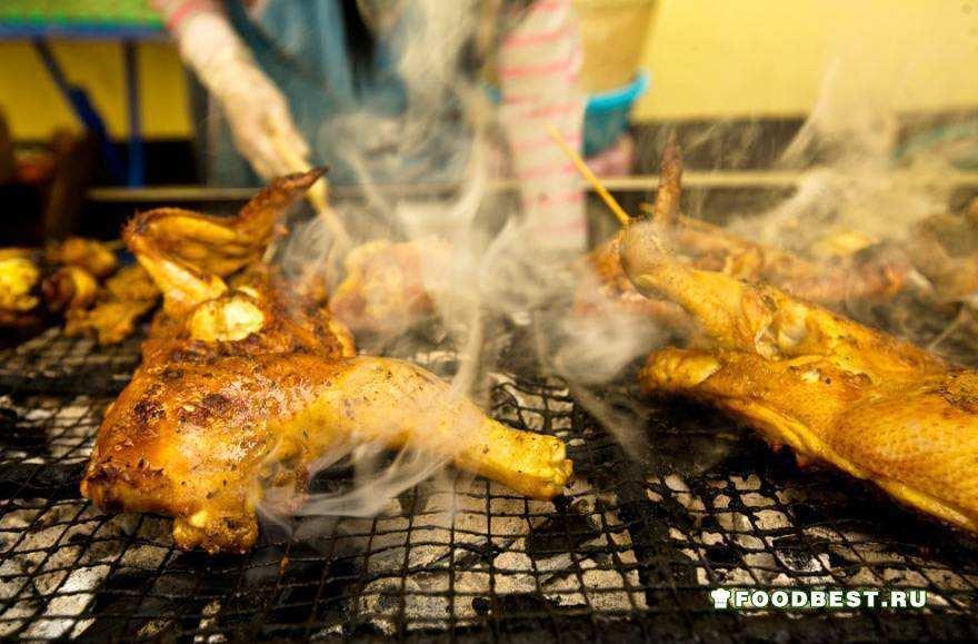 Уличная еда в Азии